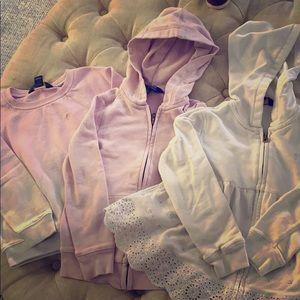 (3) Girls Ralph Lauren Polo sweatshirts size 6